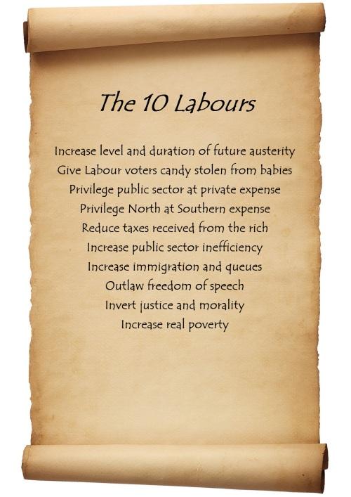 ten labours
